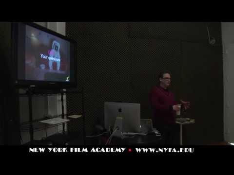 New York Film Academy Game Design Guest Speaker: Rob Davis