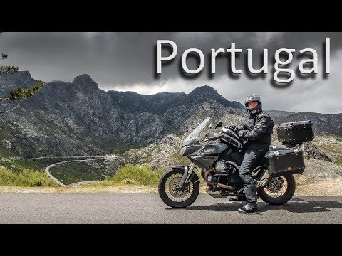Portuguese mountains motorcycle tour 2016