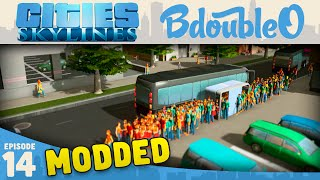 Cities Skylines Mods :: POPULATION BOOM! Part 14 [Cities Skylines Gameplay]