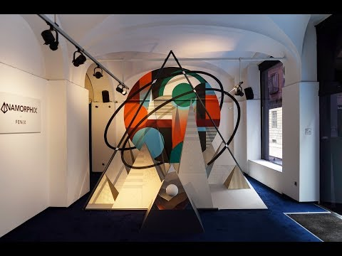 Milan Design Week 2018   ANAMORPHIX by FENIX