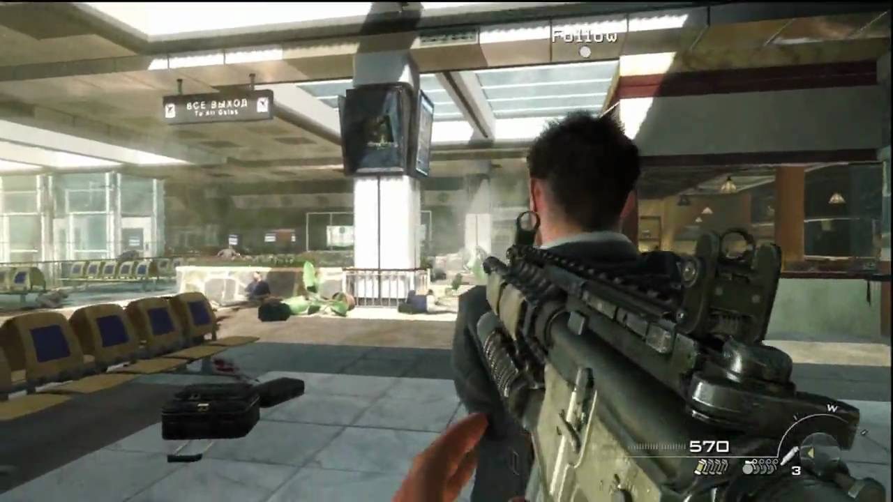 COD: Modern Warfare features mustard gas attack on child playground