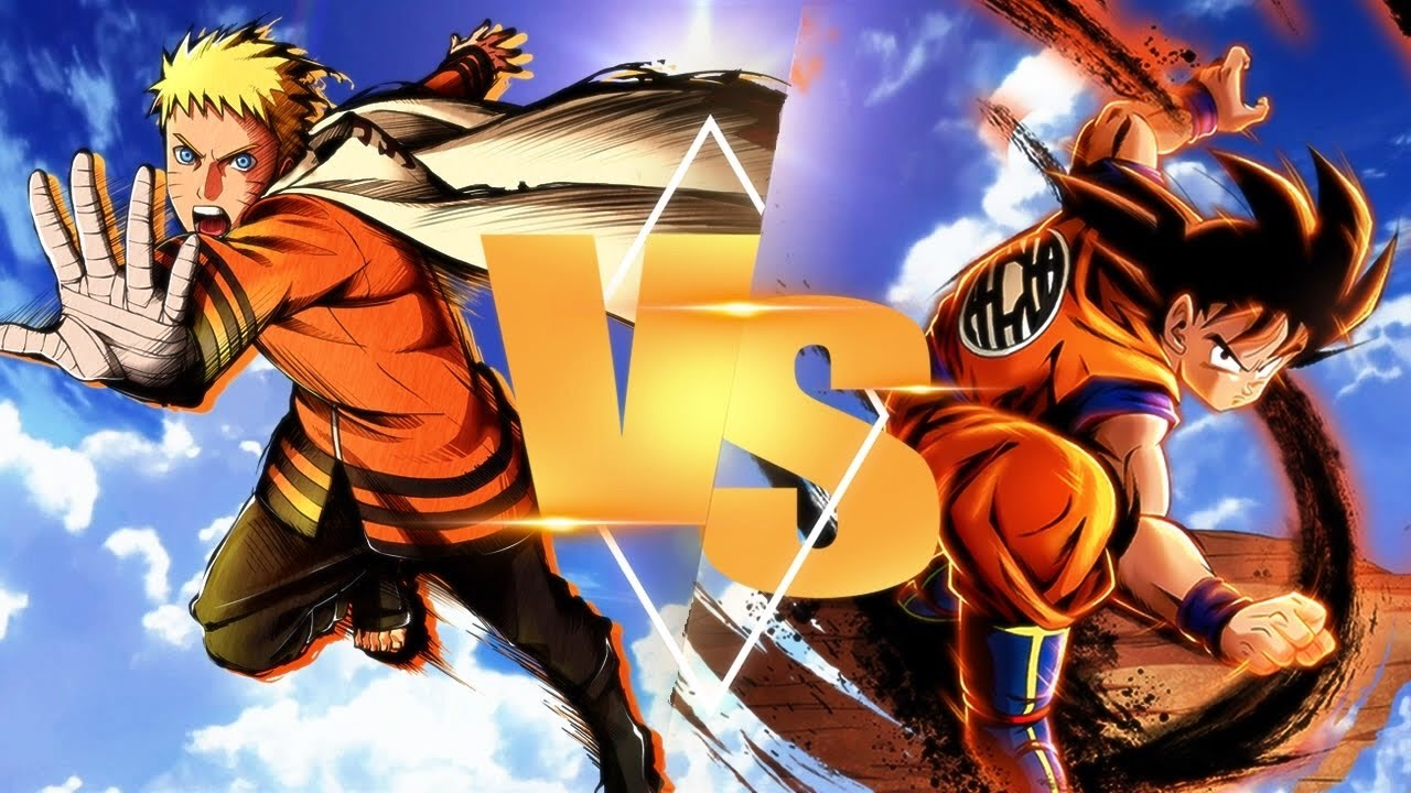 Hokage Naruto Vs Goku Sprite Animation Boruto X Dragon Ball