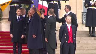 11-Novembre: les dirigeants internationaux arrivent à l'Élysée