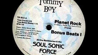 Afrika Bambaataa & The Soul Sonic Force Live @ Uk Fresh 86