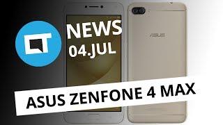 Zenfone 4 Max tem bateria de 5.000 mAh; Mercado Livre boicota Switch e+ [CT News]