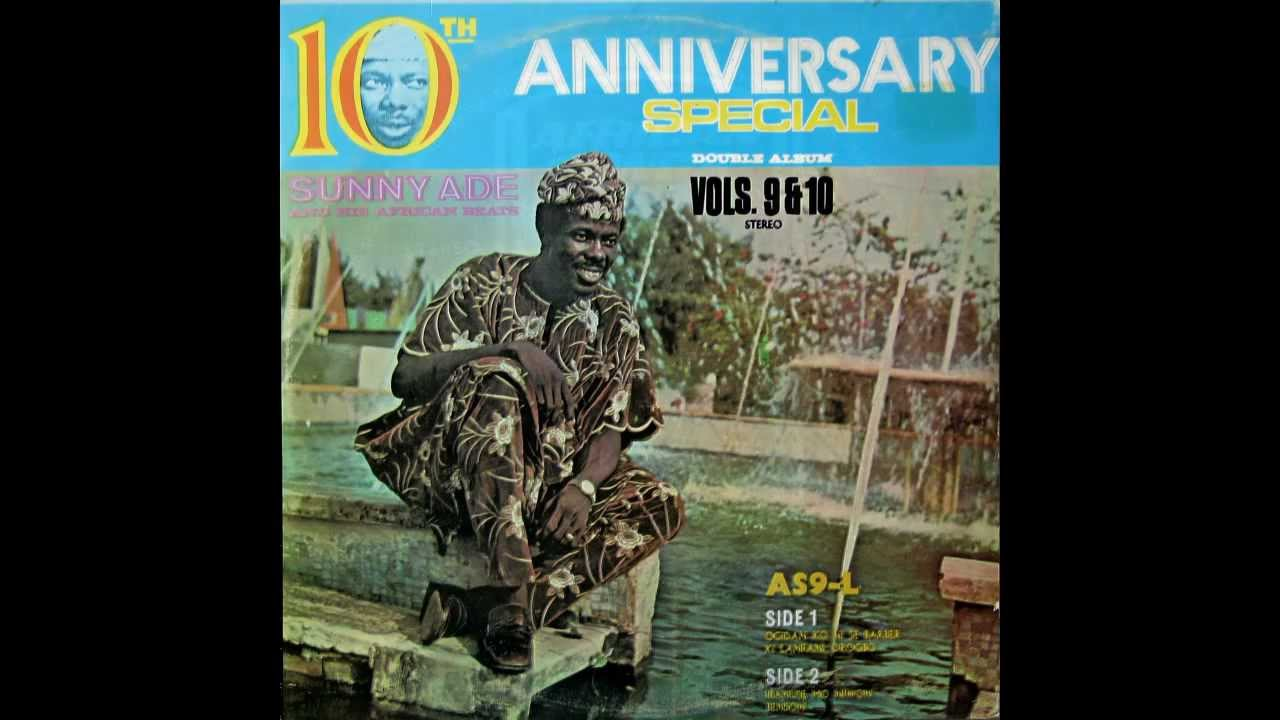 Download Sunny Ade & His African Beats 1973 - Vols.9&10