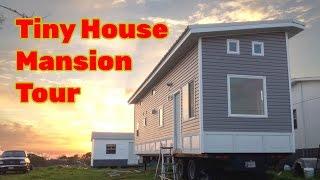 Family-Sized 40ft, Non-Toxic Tiny House Mansion