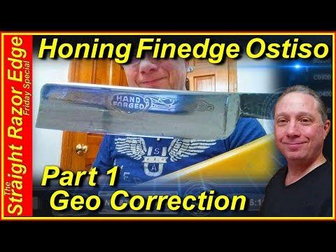 How To Properly CORRECT Your Straight Razor Blade, Straight Razor Edge Friday Special Part 1