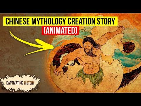 Chinese Mythology Creation Story Explained In Animation