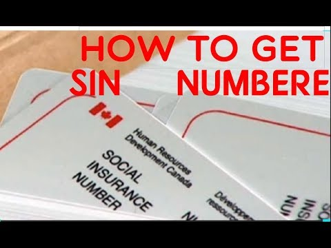 How To Get Social Insurance Number (SIN NUMBER) In Canada For New Immigrant.