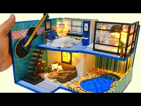 3 DIY Miniature Dollhouse Rooms BTS Jimin House Inspired