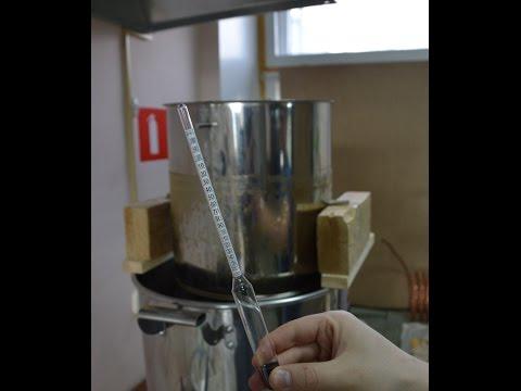Ареометр. Как измерить начальную плотность пива
