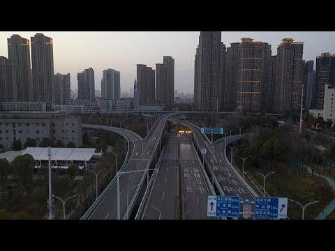 Hayalet kent Vuhan: Koronavirüsün çıktığı kentin drone görüntüsü