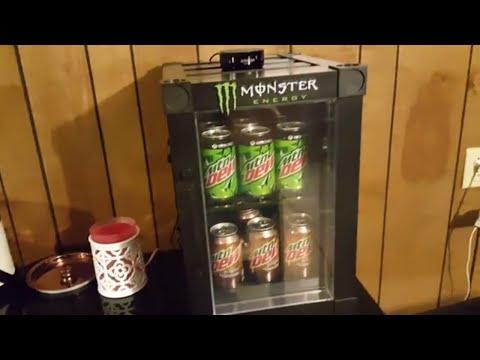 Monster Energy Mini Fridge Rdview