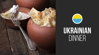 Pierogi (varenyky) With Potato || Around The World: Ukrainian Dinner On Euromaidan || Gastrolab