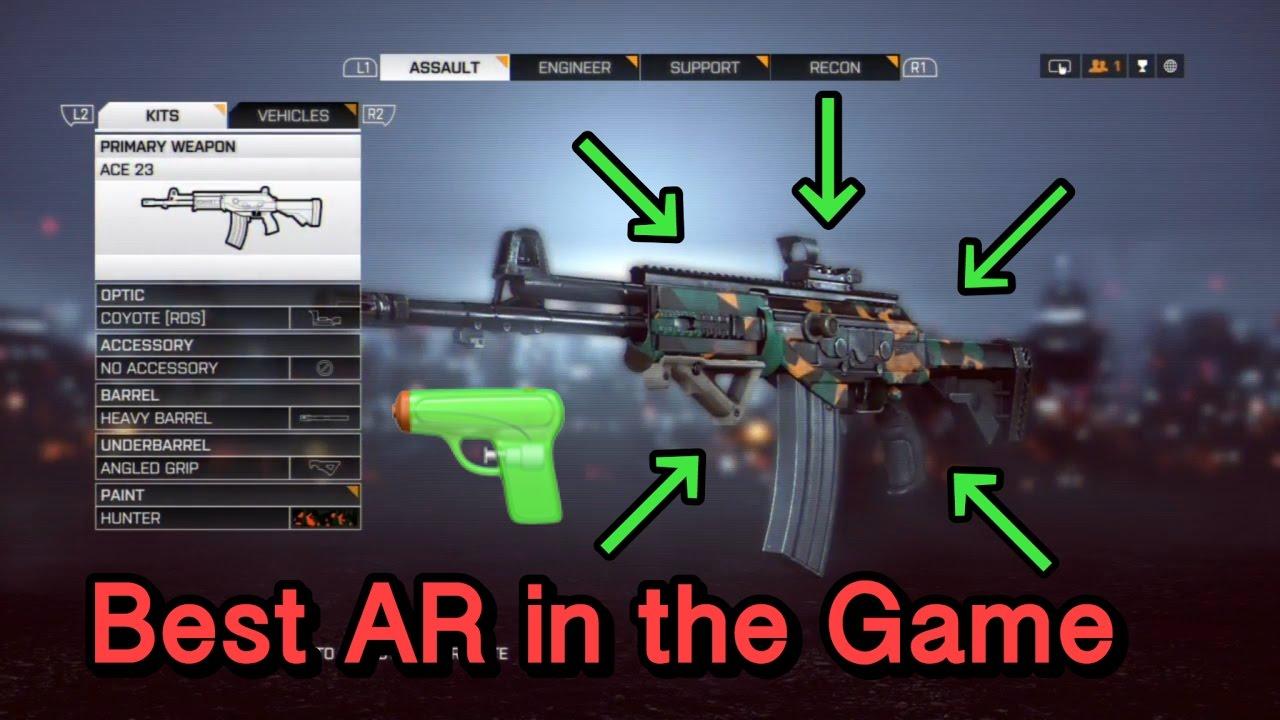Как открыть ace 23 в battlefield 4