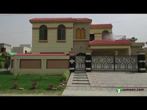 1 KANAL CORNER HOUSE FOR SALE IN BLOCK P IZMIR TOWN LAHORE
