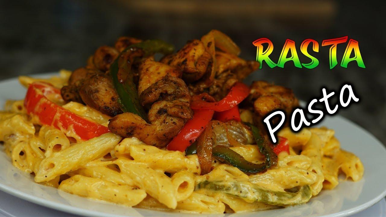 Best Jerk Chicken Rasta Pasta Ever How To Make Rasta Pasta With Chicken Youtube