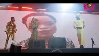 LATEEF ADEDIMEJI SHADES BOBRISKY PICTURE AT OXYMORON OF KENNY BLAQ 2019