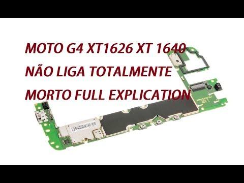 Moto G4 não liga curto na linha do Backlight FULL explication