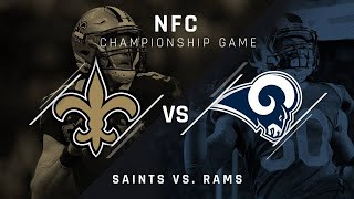 Rams vs. Saints | NFL NFC Championship Game