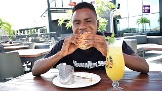 How to cook an American Burger in Nigeria