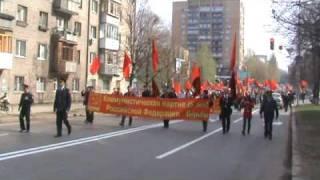 1 мая. Демонстрация КПРФ в Самаре