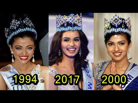 Thumbnail: Top 10 Indian Ladies Who Won 'Miss World Title'