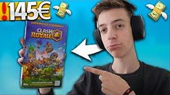 😱💸 FÜR 145€ SAMMELKARTEN BOOSTER ÖFFNEN! 😍 | XXL Kartenspiel! | Clash Royale