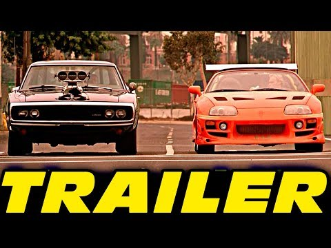 The Fast And The Furious Trailer [HD]