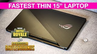 ROG Zephyrus M GM501 2018 Gaming Review - The Fastest Thin Gaming Laptop? GTX 1070 G Sync 8th Gen