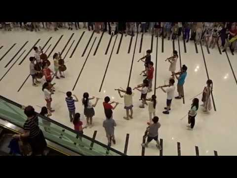 MYO Flash Mob on 2017-06-17 at HK Maritime Square