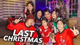 Last CHRISTMAS Family DANCE!! | Ranz and Niana