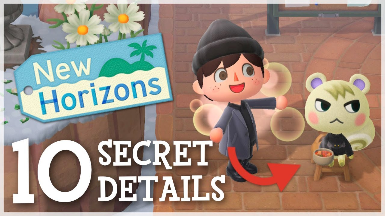 Animal Crossing New Horizons - 10 Secret Details You Didn't Know!