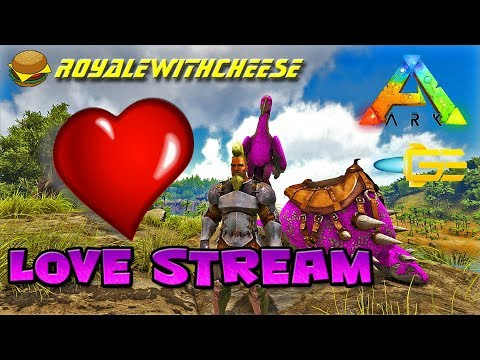 "HAPPY VALENTINE""S DAY DINO TAMING STREAM VANILLA CHEESE SUPPORTER SERVER - ARK Survival Evolved"