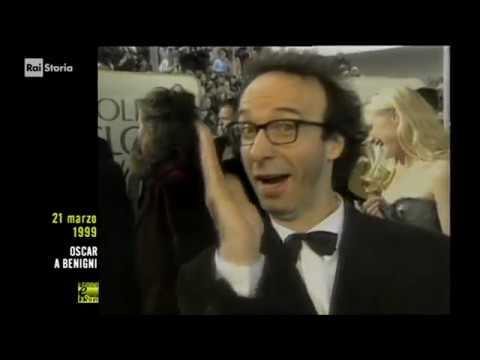 (Giorno & Storia) 21 MARZO 1999 - tre Oscar del cinema a Roberto Benigni, La Vita è Bella
