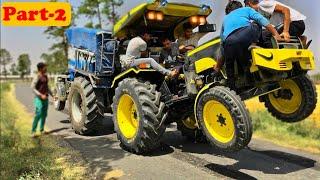 Part-2 Sonalika 750 vs John Deere 5310 tractor tochan in Haryana