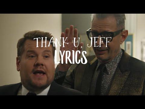 thank u, jeff - lyrics