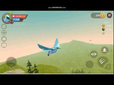 Как летать в замке орлом в WildCraft