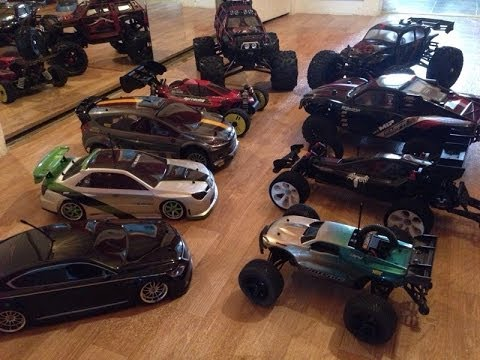 My RC Car and Lipo Collection 2014