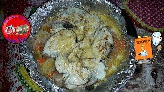Как запечь толстолобика в духовке 🐟 Рыбные блюда