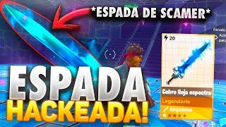 SCAMEO NEW EXCLUSIVE WEAPON! *HACKED SPACE* - Fortnite Save the World