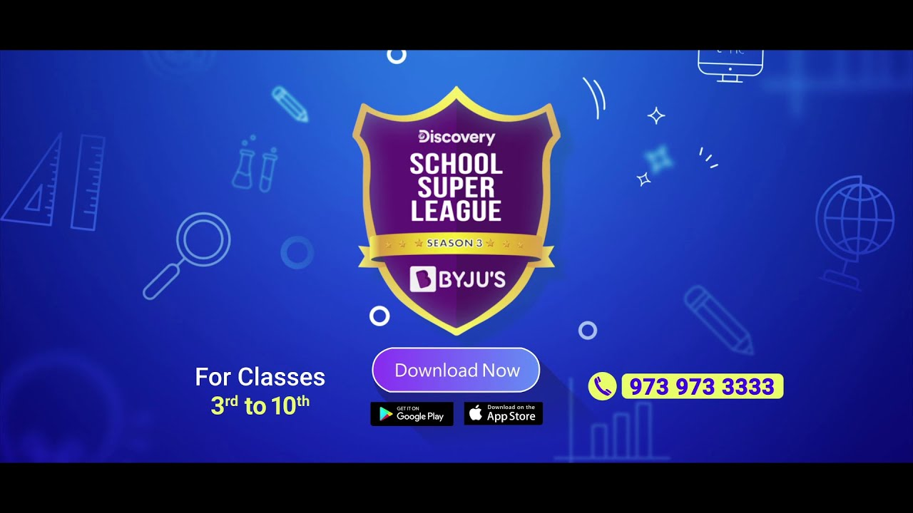 Discovery School Super League Season 3 Promo Discovery India Youtube