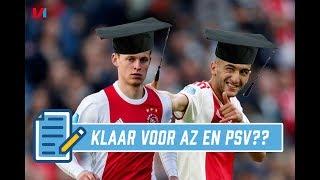 'Er Komen Twee Absolute Examens aan voor Ajax in de Eredivisie'