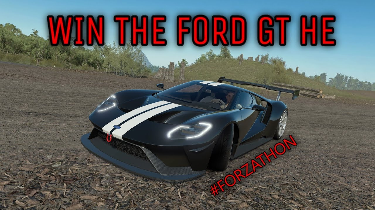 Forza Horizon  Forzathon Win The Ford Gt He Burnout Skill Guide