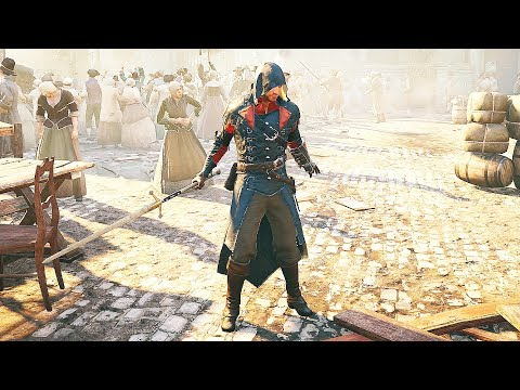 Assassin's Creed Unity Arno Dorian's Long Sword Rage & Printing Press Mission