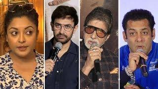Bollywood Celebs Reaction On Tanushree Dutta CONTROVERSY- Salman, Aamir, Amitabh