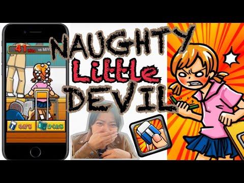 Review Game simple nan kocak NAUGHTY LITTLE DEVIL (For iOS)
