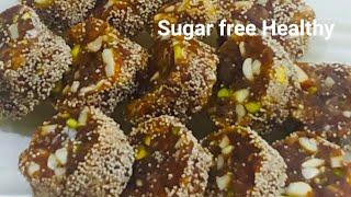 ખજૂર ડ્રાયફ્રુટ્સ રોલ l Dates and Dry fruits roll l  # sugar free #healthy and natural sweet recipe.