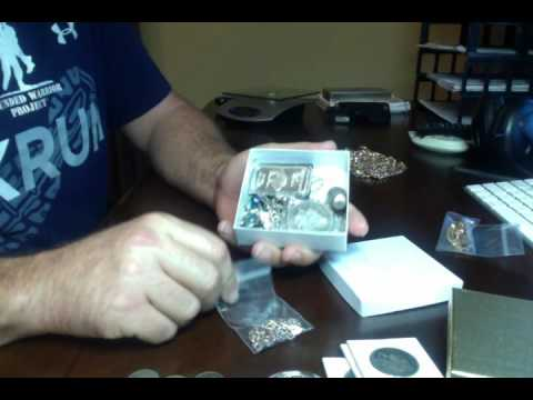 Silver Coins and gold pickups.